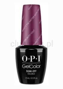 OPI - GelColor - What's the Hatter with You? *ALICE THROUGH THE LOOKING GLASS COLLECTION 2016* (C) #GCBA3