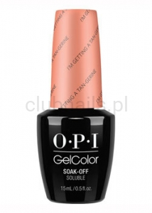 OPI - GelColor - I'm Getting a Tan-gerine *RETRO SUMMER COLLECTION 2016* (C) #GCR68
