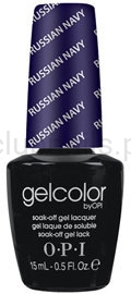 OPI - GelColor - Russian Navy *RUSSIAN COLLECTION 2007* #GCR54