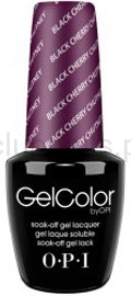 OPI - GelColor - Black Cherry Chutney *INDIA COLLECTION 2008* #GCI43