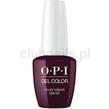 GCP41 OPI GEL COLOR- Yes My Condor Can-do ! (Peru collection)