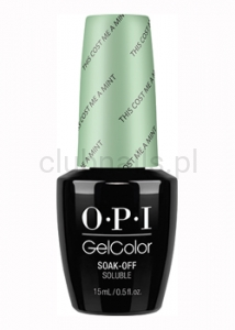 OPI - GelColor - This Cost Me a Mint *SOFT SHADES COLLECTION 2016* #GCT72
