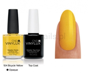 CND - VINYLUX - Bicycle Yellow (O) *PARADISE COLLECTION 2014* #104