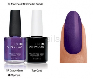 CND - VINYLUX - Grape Gum (O) #117