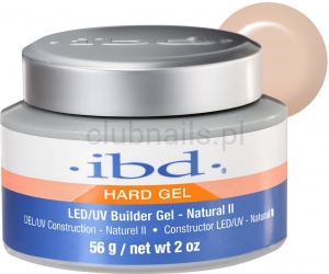 IBD NATURAL II BUILDER GEL 56G! LED/UV NOWOŚĆ