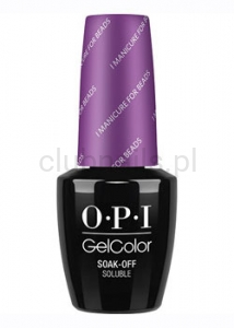 OPI - GelColor - I Manicure for Beads *NEW ORLEANS COLLECTION 2016* (C) #GCN54