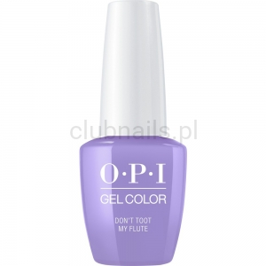 GCP34 OPI GEL COLOR- Don't Toot My Flute (Peru collection)
