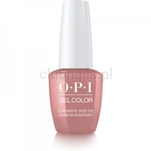 GCP37 OPI GEL COLOR- Somewhere over The Rainbow Mountains (Peru collection)