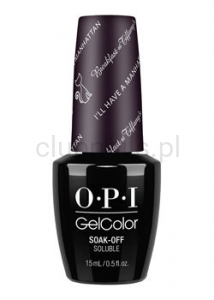 OPI - GelColor - I'll Have A Manhattan *BREAKFAST AT TIFFANY'S COLLECTION 2016* (C) #HPH14