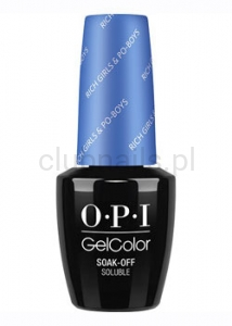 OPI - GelColor - Rich Girls & Po-Boys *NEW ORLEANS COLLECTION 2016* (C) #GCN61