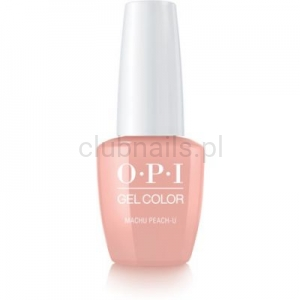 GCP36 OPI GEL COLOR- Machu Peach-u (Peru collection)