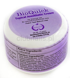 BioQuick Tropic Anesthetic Cream Biotouch