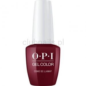 GCP40 OPI GEL COLOR- Como Se Llama? (Peru collection)