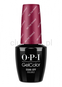 OPI - GelColor - We the Female *WASHINGTON DC COLLECTION 2016* (C) #GCW64